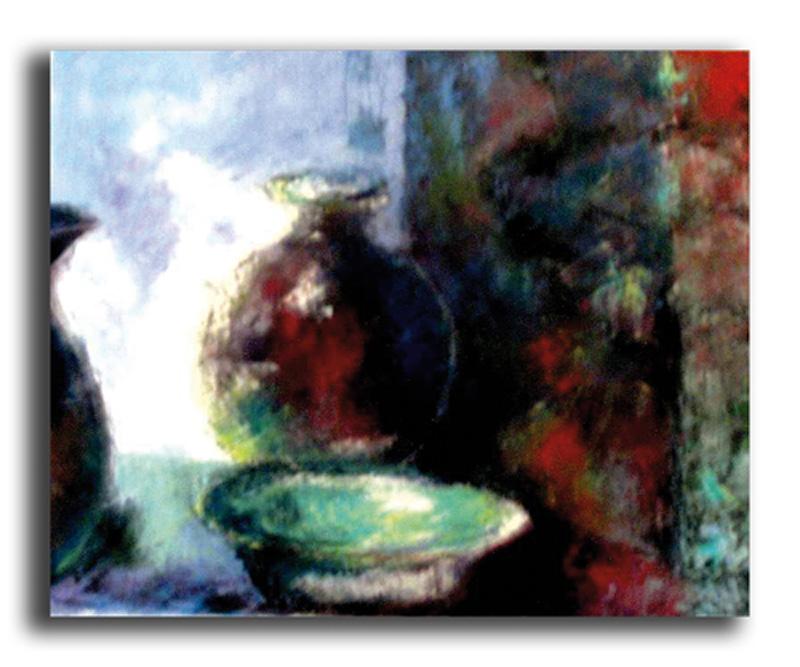 Matin Huile sur toile 50 x 70 cm (Réservé)