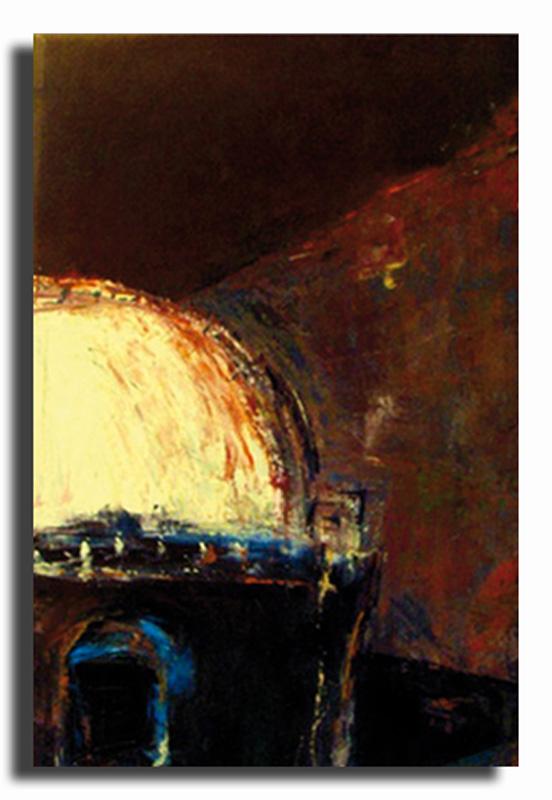 Maison du désert Huile sur toile 50cm x 70cm (Disponible)